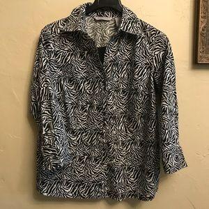 Signature by Larry Levine Women's blouse